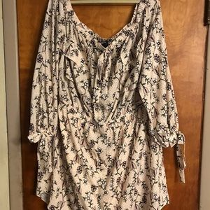 Eloquii Off Shoulder Floral Dress Size 26